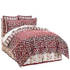 Alexa Hampton Home 6-piece Leaf Jacquard Comforter Set