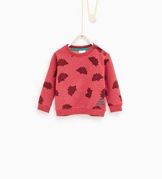 Hedgehog sweatshirt-NEW IN-BABY BOY | 3 months-3 years-KIDS | ZARA United States