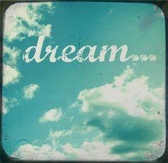 Dream. #blue #sky #clouds