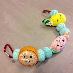 Crocheted Stroller Toy
