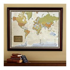 Destination Wedding Gifts For Parents : Travel Destination Map 60th Anniversary Gifts For Couples, Parents ...