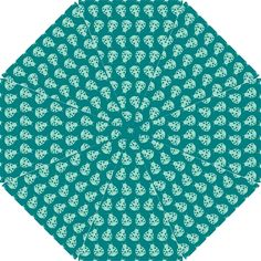 Ladybug Vector Geometric Tile Pattern Hook Handle Umbrellas (Small)