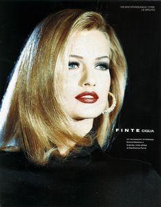 Karen Mulder - Gianfranco Ferre' for Dior Runway Show  1992