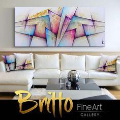Quadros Abstratos Decorativos 160cm x 70cm QB226