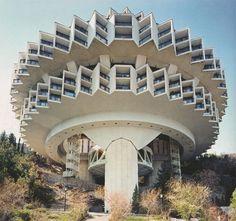 Soviet Brutalist Architecture Druzhba Holiday Center Hal, Yalta (1984) Photos By #FredericChaubin