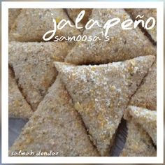 Jalapeño & Cheese Samosas recipe by Salmah Dendar posted on 16 Apr 2019 . Recipe has a rating of by 1 members and the recipe belongs in the Savouries, Sauces, Ramadhaan, Eid recipes category Halal Recipes, Snack Recipes, Cooking Recipes, Tofu Recipes, Cooking Tips, Chicken Recipes, Jalapeno Cheese, Jalapeno Recipes, Jamun Recipe