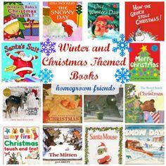Winter and Christmas Themed Books for Children #readersadvisory