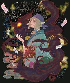 . Cartoon As Anime, Anime Manga, Anime Guys, Mononoke Anime, Horror Tale, Story Arc, Pretty Pictures, Asian Art, Otaku