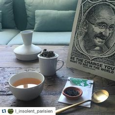 """""""Be the change you want to see in the world"""" #Repost @l_insolent_parisien with @repostapp  Evasion 