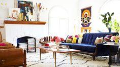 Preciously Me blog : Emily Henderson's living room