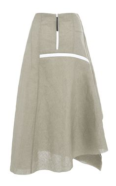 Linen Canape Skirt by Marni for Preorder on Moda Operandi Skirt Patterns Sewing, Couture, Skirt Pants, Indian Wear, Modest Fashion, Playsuit, Marni, Diy Clothes, Casual Outfits