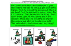 Leprechaun Sequencing Activity