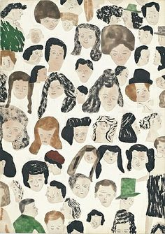 View Faces by Karin Mamma Andersson and Jockum Nordström on artnet. Browse upcoming and past auction lots by Karin Mamma Andersson and Jockum Nordström. Art And Illustration, Pattern Illustration, Lynda Barry, Art Graphique, Outsider Art, Up Girl, Art Design, Art Plastique, Art Sketchbook