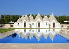 This is Villa Trullo, an antique round house complex located in the heart of the Salento Region in Italy. See the album here!