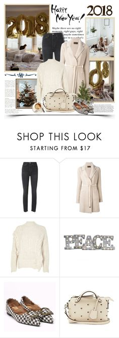 """""""2690. HAPPY NEW YEAR ♥"""" by chocolatepumma ❤ liked on Polyvore featuring RE/DONE, Loro Piana, River Island, Grandin Road and Fendi"""