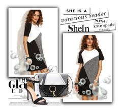 """SheIn 2 / III"" by selmamehic ❤ liked on Polyvore featuring Kate Spade"