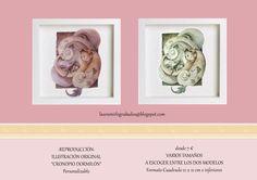 """Ilustraciónes """"Cronopio Dormilón"""" - Reproducciones de Arte, Grabado e Ilustración por DaWanda.com"""