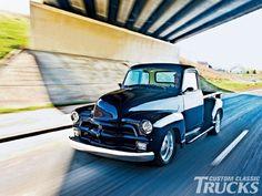 1954 Chevrolet 3100. Custom Classic Trucks Magazine