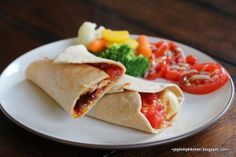 Monterrey Chicken Wraps