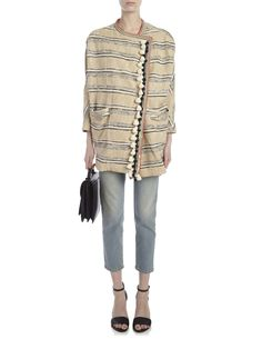 Bazar Deluxe	Jacket	Textured Stripe Jacket
