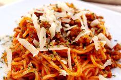 espaguetis a la boloñesa - Buscar con Google