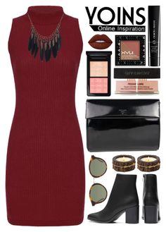"""Yoins (15)"" by itsybitsy62 ❤ liked on Polyvore featuring Givenchy, MAC Cosmetics, Giorgio Armani, NYX, Yves Saint Laurent, Prada, Lime Crime, Himalayan Trading Post, yoins and yoinscollection"