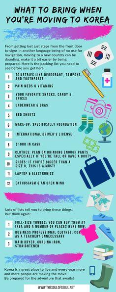 Travel Jobs, Food Travel, Travel Hacks, Travel Essentials, Learn Basic Korean, Cities In Korea, Living In Korea, Travel Trailer Camping, South Korea Travel