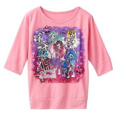 Monster High Be Unique Graphic Tee - Girls 7-16