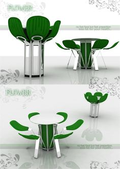 Flower Bloom conceptual furniture design by Fatih Can Sar?öz an industrial product designer from Istanbul Turkey: Istanbul Turkey Biomimicri Maar Bloom Conceptual Concept De 41 95 Suction Flower Bloom Furniture Design Products Design. Urban Furniture, Funky Furniture, Design Furniture, Unique Furniture, Chair Design, Furniture Upholstery, Concept Architecture, Architecture Design, Design Creation