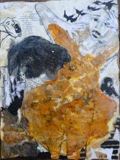 'Huidhonger' 4, Ine van den Heuvel, mixed media