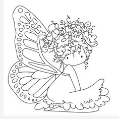 """Picture 🎀 ・ ☆ ・ 𝔤𝔢𝔣𝔲𝔫𝔡𝔢𝔫 𝔞𝔲𝔣 ・ ☆ ・ 𝔇 """". Fairy Coloring Pages, Adult Coloring Pages, Coloring Sheets, Coloring Books, Faire Un Album Photo, Digi Stamps, Free Coloring, Doodle Art, Cute Drawings"""