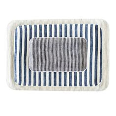 These trays make it easy for you to serve and entertain in style! They're lightweight and functional with versatile patterns you'll never grow tired of. Large tray used in styled image.