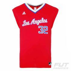 Regata Adidas NBA LA Clippers Road 2015 32 Griffin b5eaa3cce7a