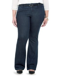 Torrid Denim Belted Trouser - Dark Rinse (Tall) 68.50