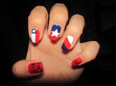 Diseños para el 18 de Septiembre, Chile - Nail Art Gallery by NAILS Magazine