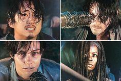 The Walking Dead': Who Did Negan Kill in the Season 6 Finale?   TVLine