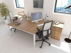 Bureau bench 2 personnes CORPORATE New Home Ideas Pinterest