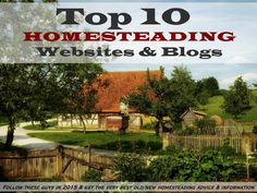 We are honored to be included on this list of the Top 10 #Homesteading Blogs and Websites by Knowledge Weighs Nothing.