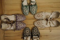 #anklewraps #morocco #one1earth Slipper Boots, Miu Miu Ballet Flats, Morocco, Wraps, Slippers, Earth, Ankle, Jewels, My Style