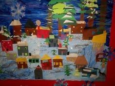 Art With Mr. E: Finished Winter Mural - K-4th