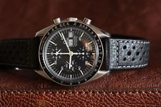 Omega Speedmaster Professional with Di Modell Rallye strap