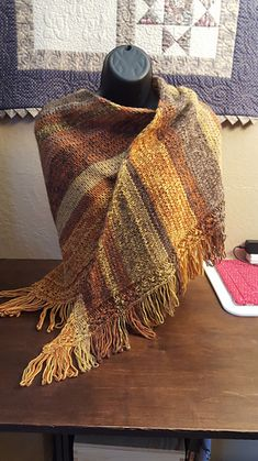 I'm so proud to announce that the Scania Shawl has been selected to be the item in the Off Our Needles Winter KAL with the Grocery Girls! You can watch the first episode here! Why not join the fun!!
