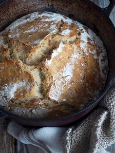 recipe by Ina-Janine Johnsen No Knead Bread, Quick Easy Meals, Sandwiches, Yummy Food, Baking, Recipes, Corner, God, Dios