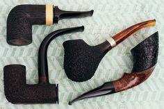 Four eccentric shapes from Rolando Negoita plus fresh pipes from Nate King Smio Satou and more. http://smokingpip.es/2sSHON1
