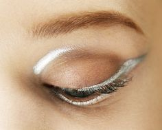 Every eye has a silver lining at Dior.  RTW Autumn-Winter 2013