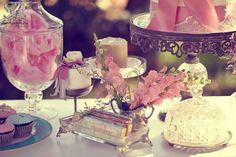 beautiful vintage tea party