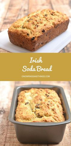 With a crackly crust yet moist and fluffy on the inside, this Irish soda bread generously studded with plump raisins is without question the best quick bread loaf you'll ever have