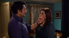 BBC One - EastEnders. Such a sad storyline, brilliantly acted by Nina Wadia and Nitin Ganatra.