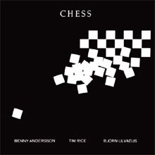 Chess is a musical with music by Benny Andersson and Björn Ulvaeus of the pop group ABBA, and with lyrics by Tim Rice. The story involves a politically driven, Cold War-era chess tournament between two men—an American grandmaster and a Soviet grandmaster—and their fight over a woman who manages one and falls in love with the other. Although the protagonists were not intended to represent any real individuals, the character of the American grandmaster (named Freddie Trumper in the stage…