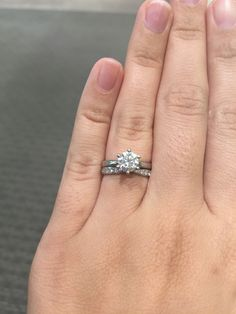 Tiffany harmony ring, pictures please! Dream Engagement Rings, Engagement Ring Cuts, Wedding Themes, Wedding Ideas, Wedding Dresses, Anklet Jewelry, Jewlery, Harmony Rose, Tiffany Wedding Rings